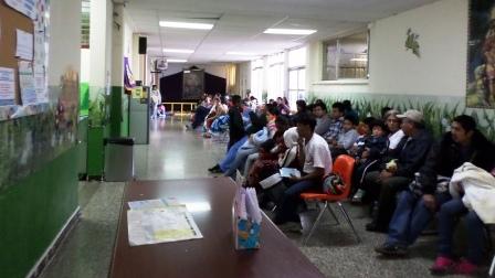 Sala de Espera de Consulta Externa