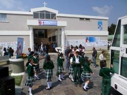 Muchos de los niños que participaron, llegaron hoy a la premiación