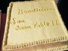 Bendiciones, pastel Juan Pablo II
